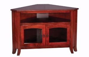 breckenridge corner tv stand ohio hardwood furniture
