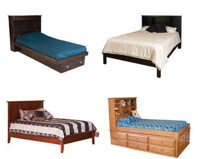 Platform or Bookcase Beds