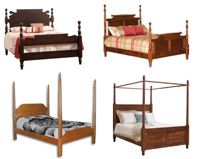 Spindle and Posted Beds