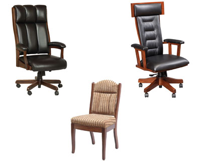 Hardwood Office Chairs