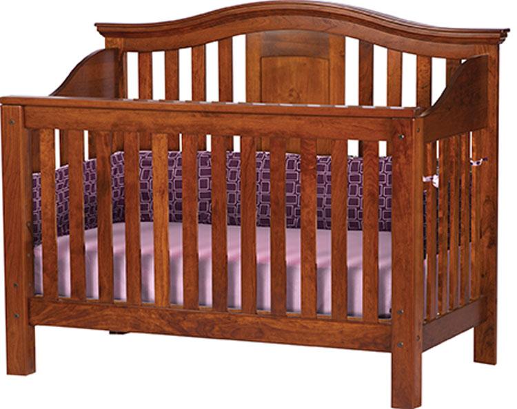 Gabrielle Crib Ohio Hardwood Furniture