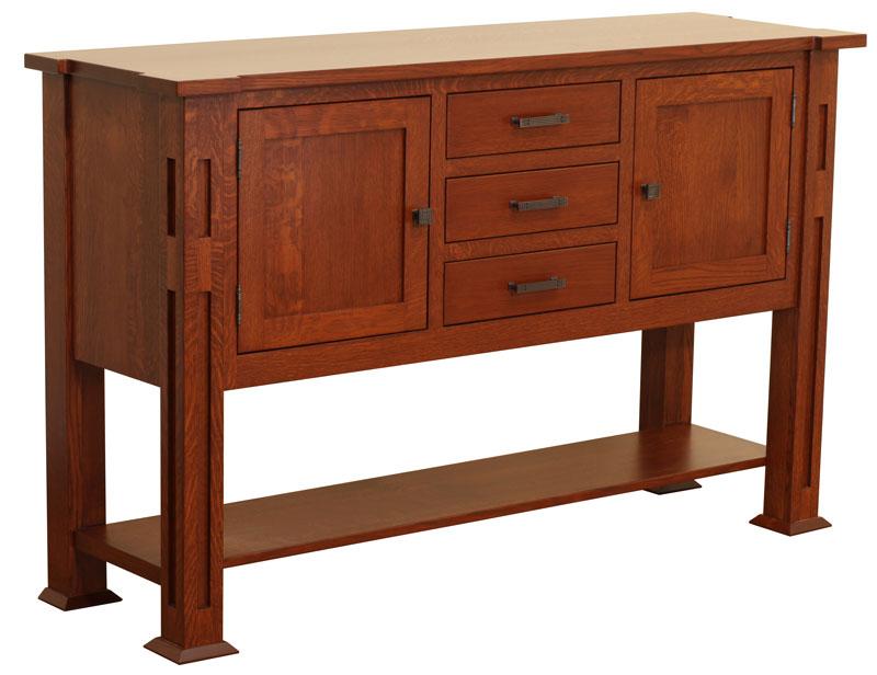 santa fe sideboard ohio hardwood furniture