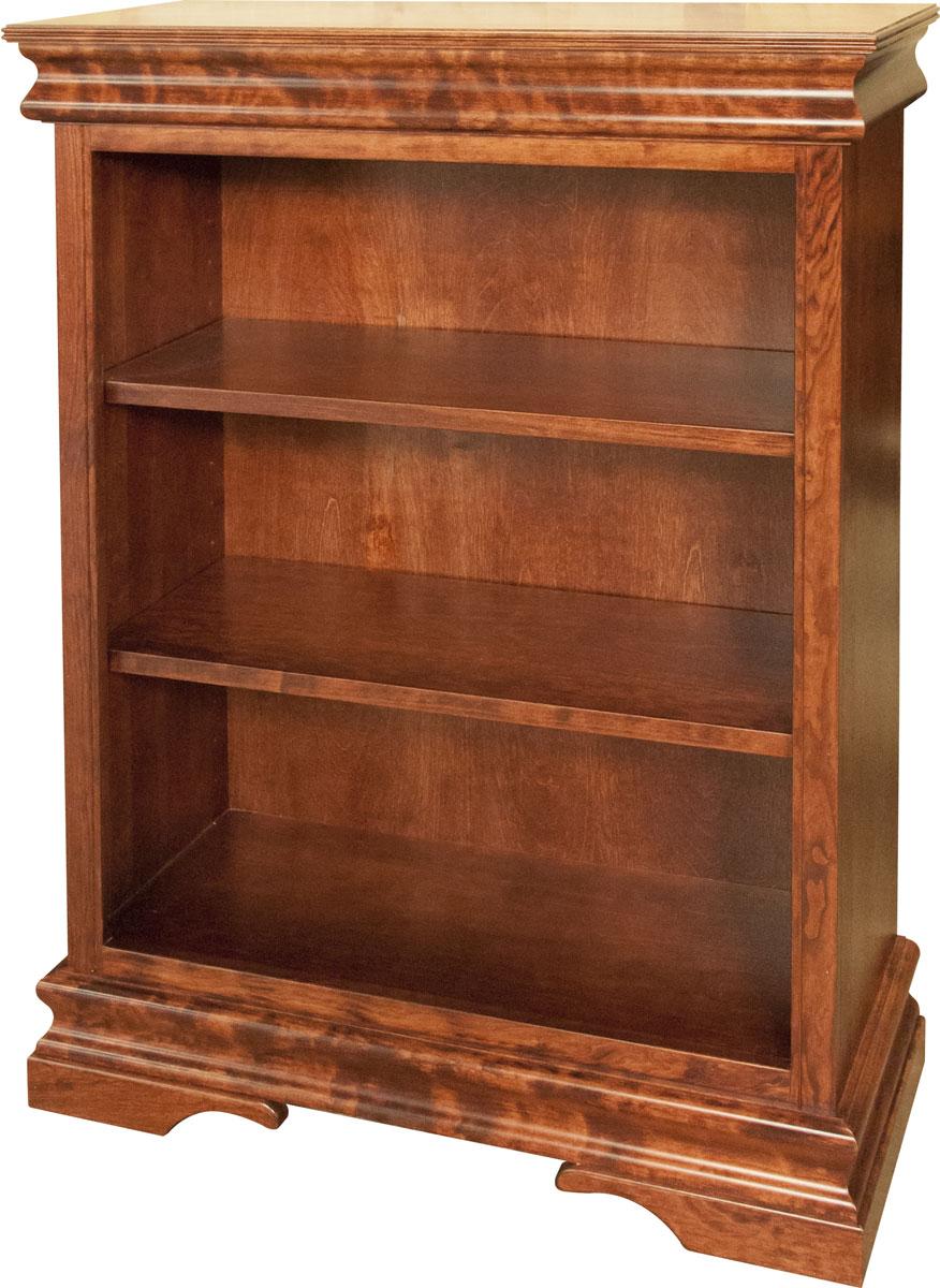 Georgia 4 foot Bookcase - Ohio Hardwood Furniture