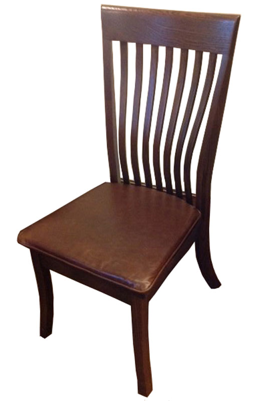Christy Chair with Leather Chair Pad