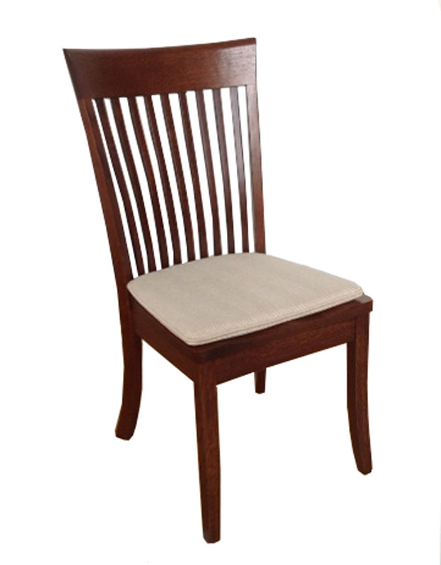 Old World Chair with Custom Chair Pad