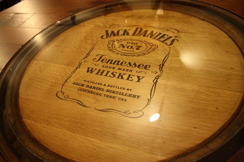 Barrel Bar Table Ohio Hardwood Furniture