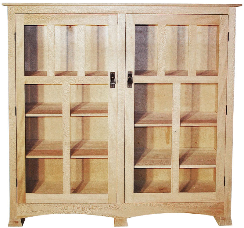 Double Door Tall Bookcase
