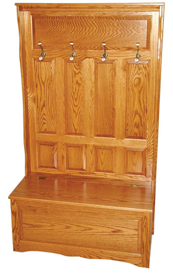 Traditional Hall Seat Ohio Hardword Upholstered Furniture