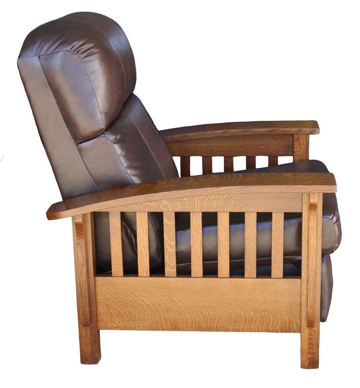 361 Mission Recliner Ohio Hardword Amp Upholstered Furniture