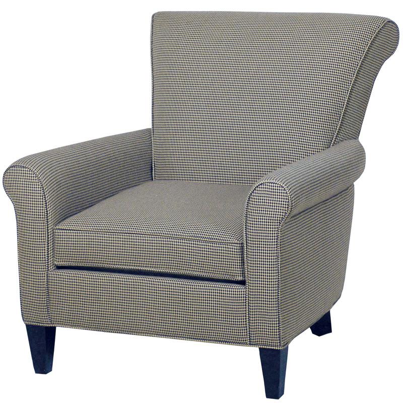 Deerfield Lounge Chair Ohio Hardwood Furniture