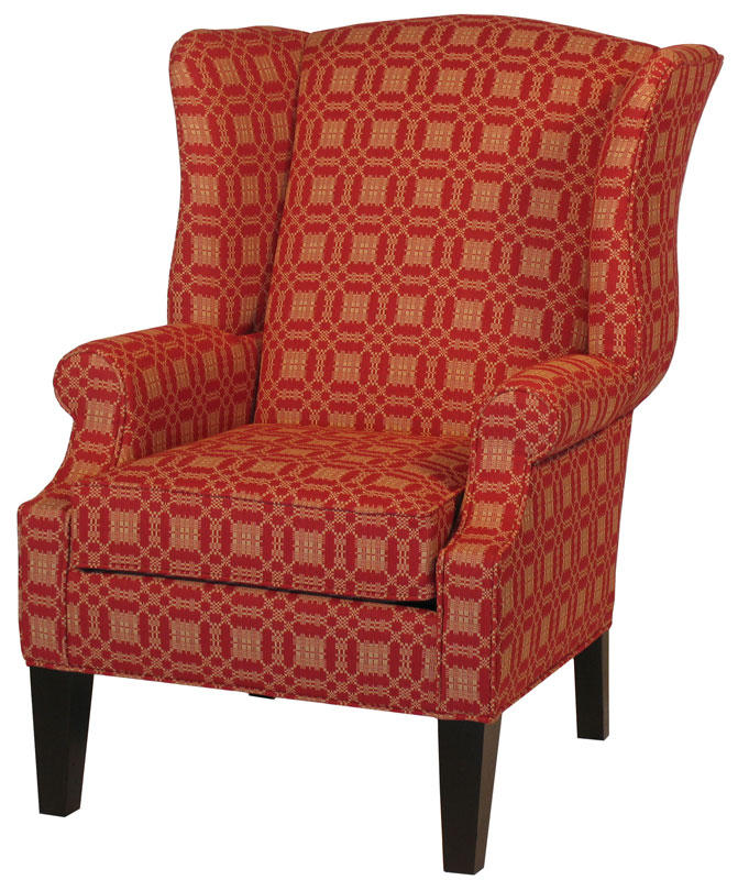 Hudson Upholstered Chair Ohio Hardwood Furniture