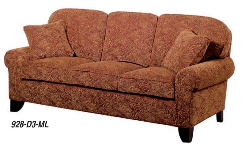 Monroe Sofa Ohio Hardwood Furniture