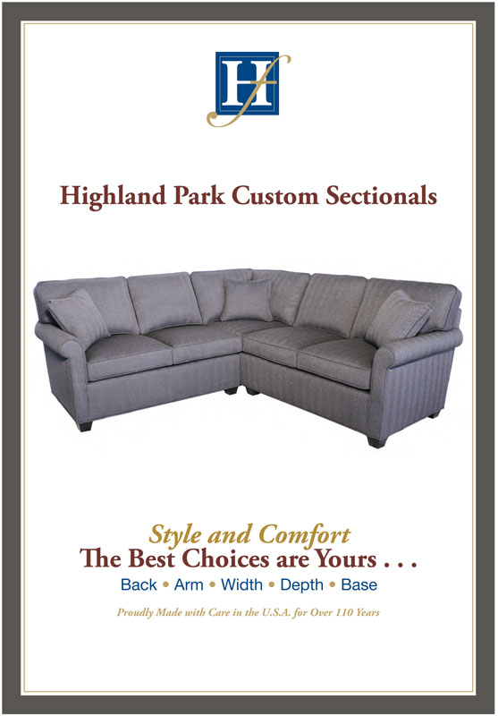 Highland Park Custom Sectionals