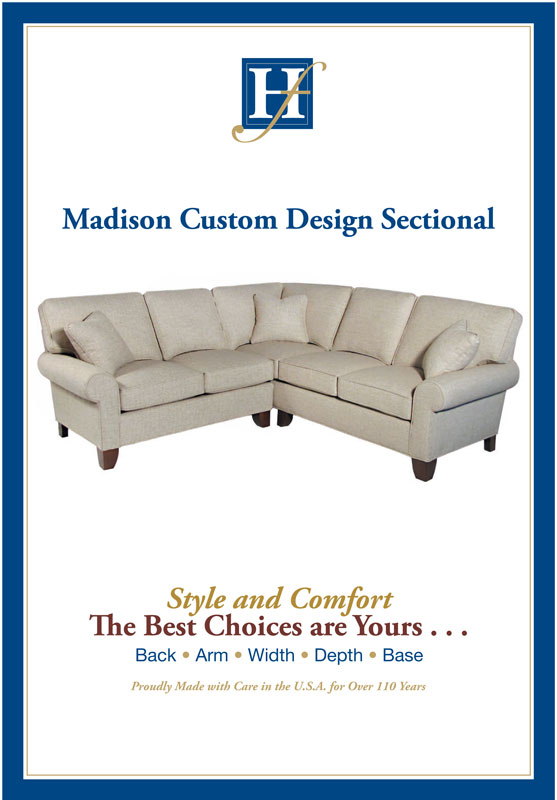 Madison Custom Design Sectional