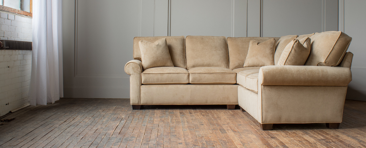 Madison Custom Design Sectional Ohio Hardwood Furniture