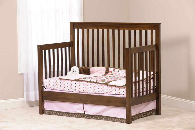 Economy Crib with Day Bed Conversion Board