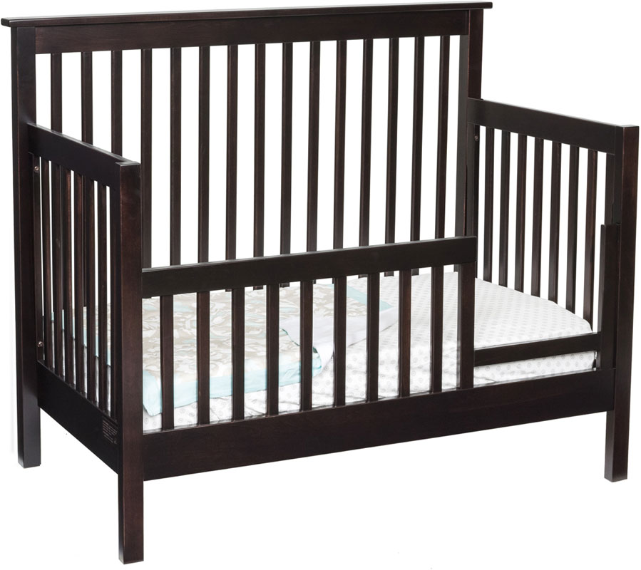 Economy Mission Day Bed with Safety Rail