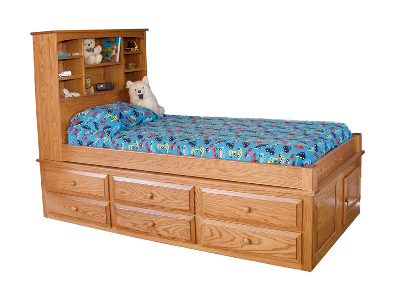 Captains Bed Ohio Hardword amp Upholstered Furniture : CaptainBed from www.ohiohardwoodfurniture.com size 800 x 598 jpeg 87kB