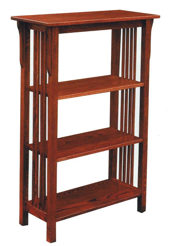 Prairie Mission Bookshelf - Products - Ohio Hardwood Furniture
