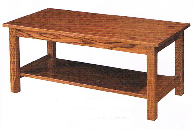 Mission Style Coffee Table Ohio Hardwood Amp Upholstered