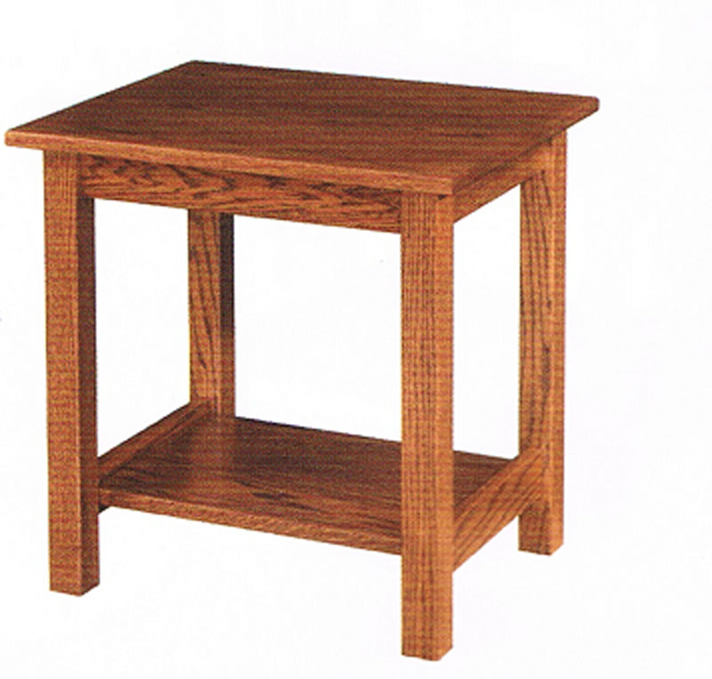 ... Mission Impeccable End Table. on square mission furniture end tables