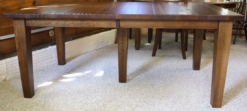 Big Leg Shaker Table Side View