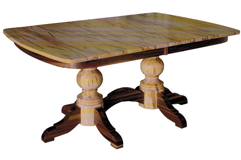 Kowan Double Pedestal Table