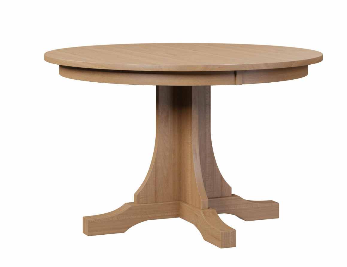 Mission Single Pedestal Table