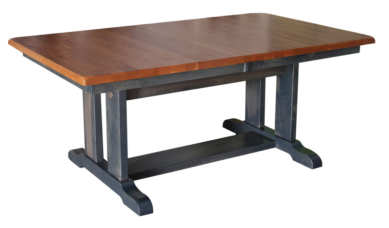 Wigal Double Pedestal Table