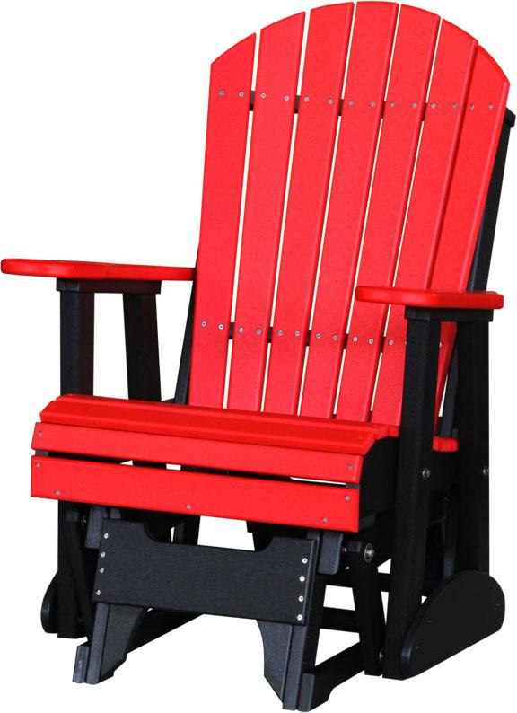 2u0027 Adirondack Glider Chair