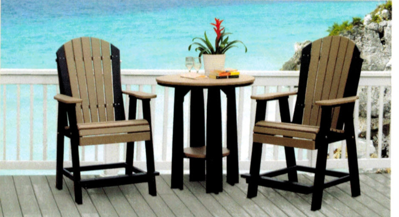 Poly Lumber Outdoor Furniture Colors not listed as standard colors are available for an additional ...