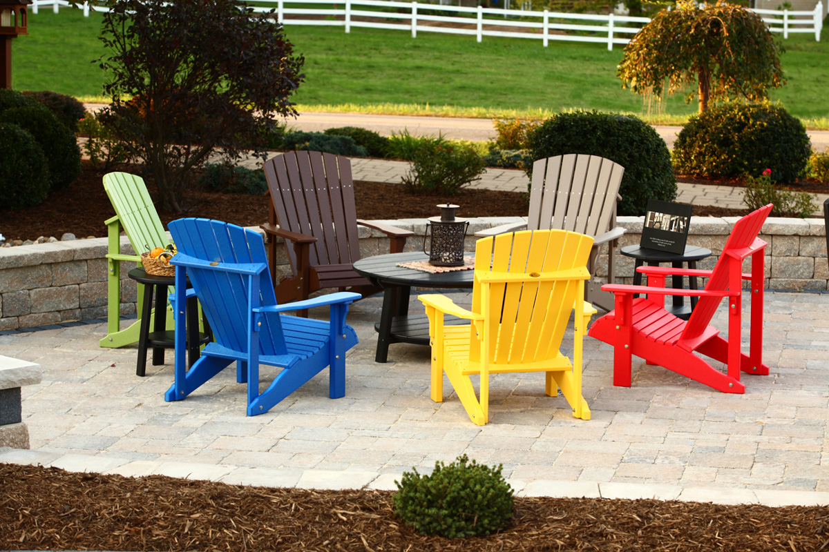 Deluxe Adirondack Chair Ohio Hardwood Furniture