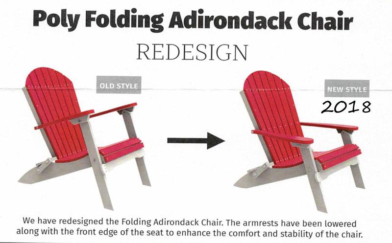 Folding Adirondack Chair Ohio Hardwood Amp Upholstered