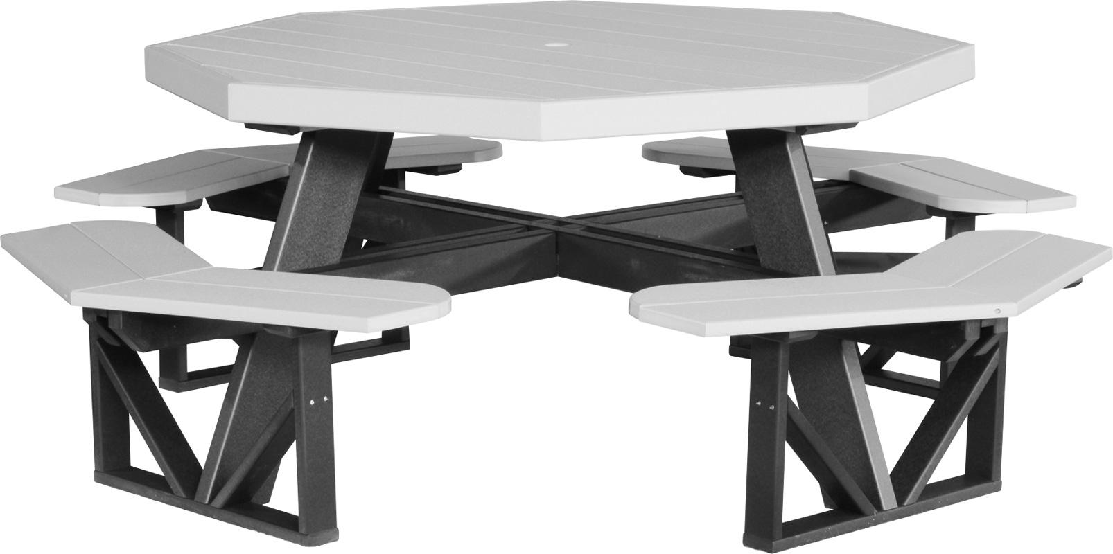 Octagonal Poly Picnic Table Ohio Hardwood Furniture