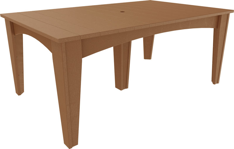 island rectangle dining table 44