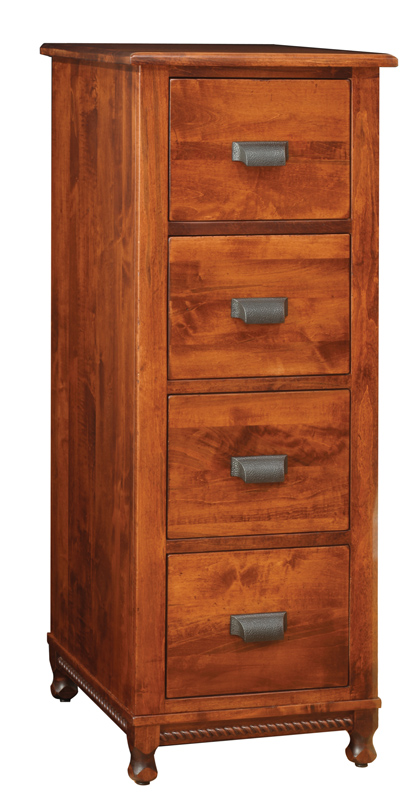 Henry Stephens 4 Drawer Lateral File Hutch
