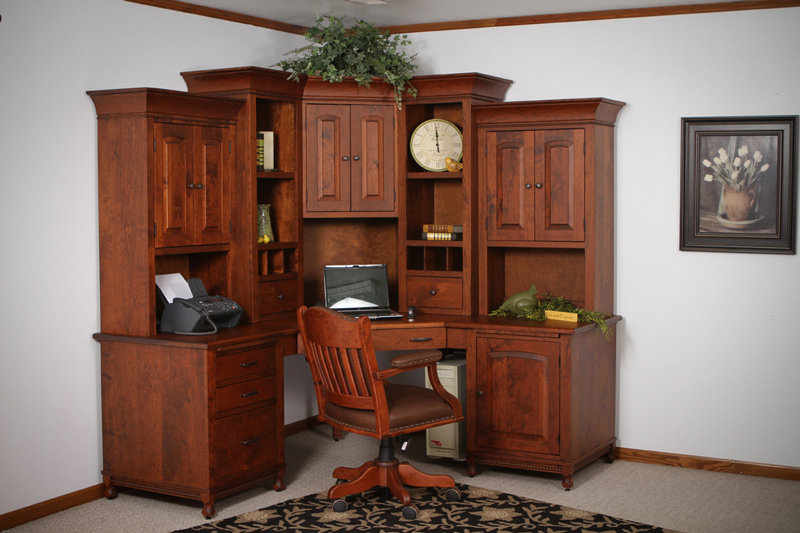Henry Stephens 6 Piece Corner Unit - Ohio Hardwood ...