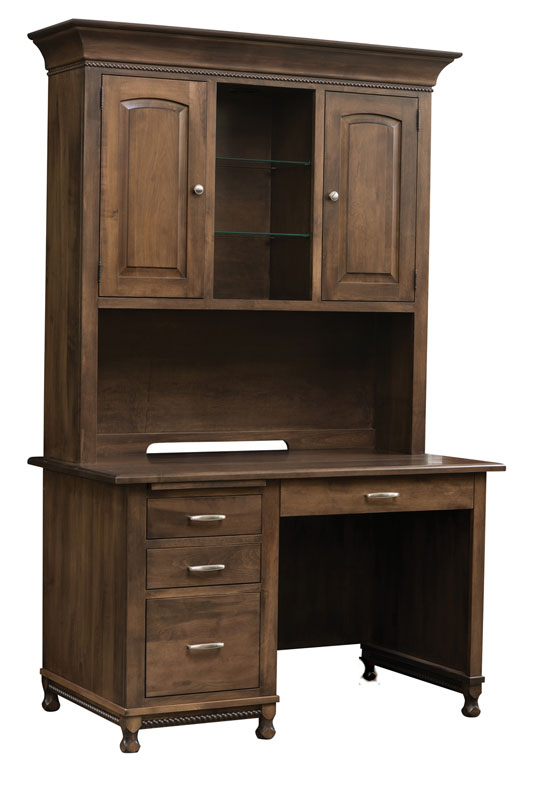Henry Stephens Knee Hole Desk and Hutch