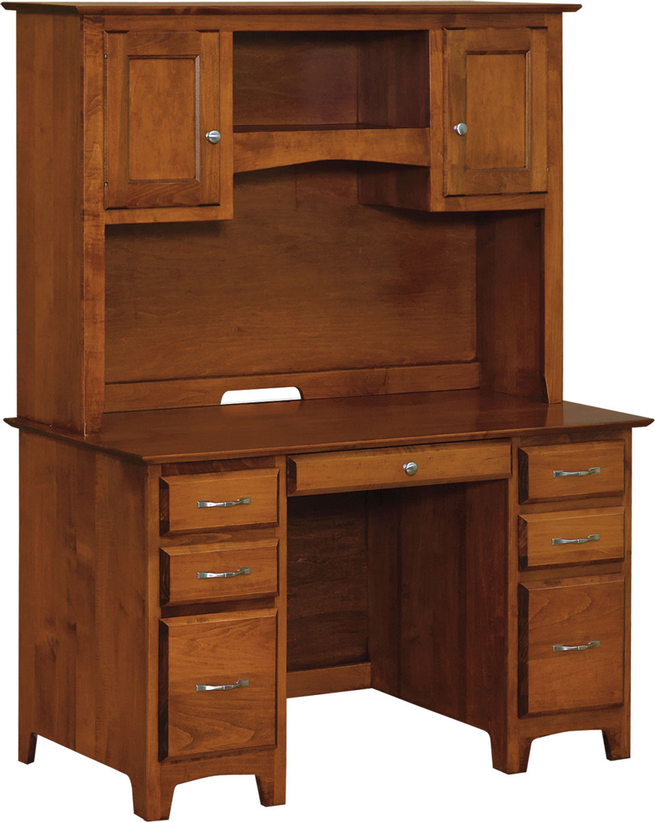 Linwood 50 Inch Executive Desk With Hutch
