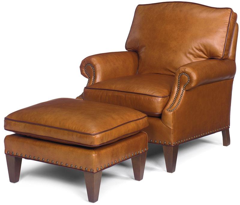 Kent Ottoman 1330 And Kent Lounge Chair 1331