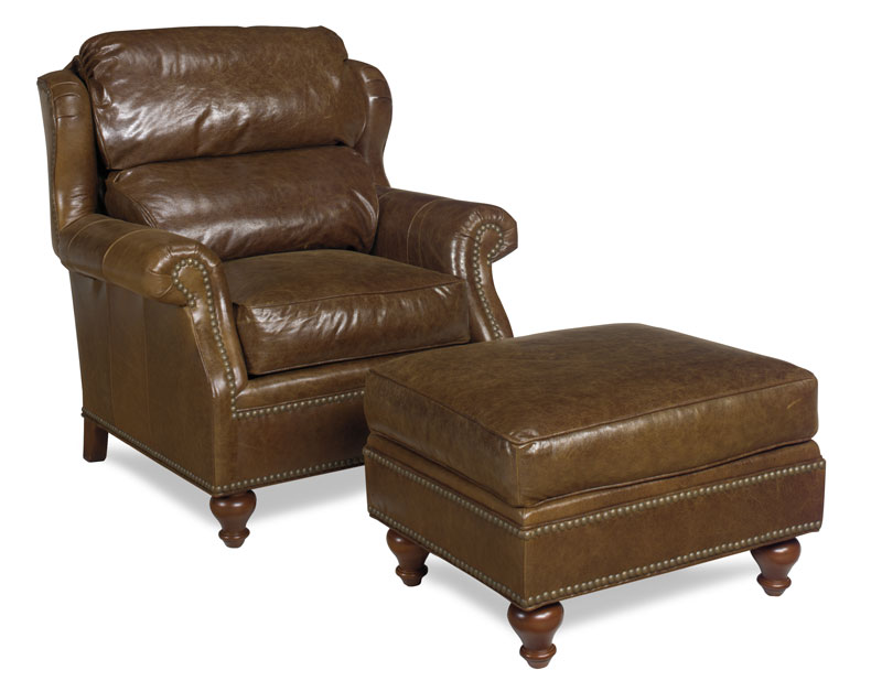 3911 Hunt Chair and 3910 Hunt Ottoman