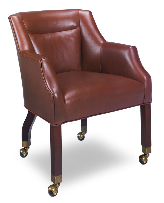 Delightful 255 C Pebble Creek Game Chair With Casters