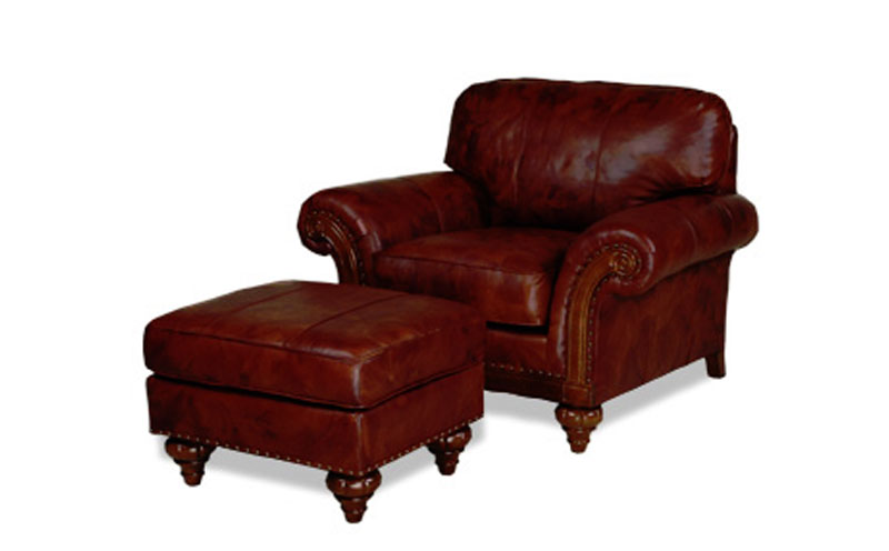 2401 Harrison Chair and 2400 Harrison Ottoman