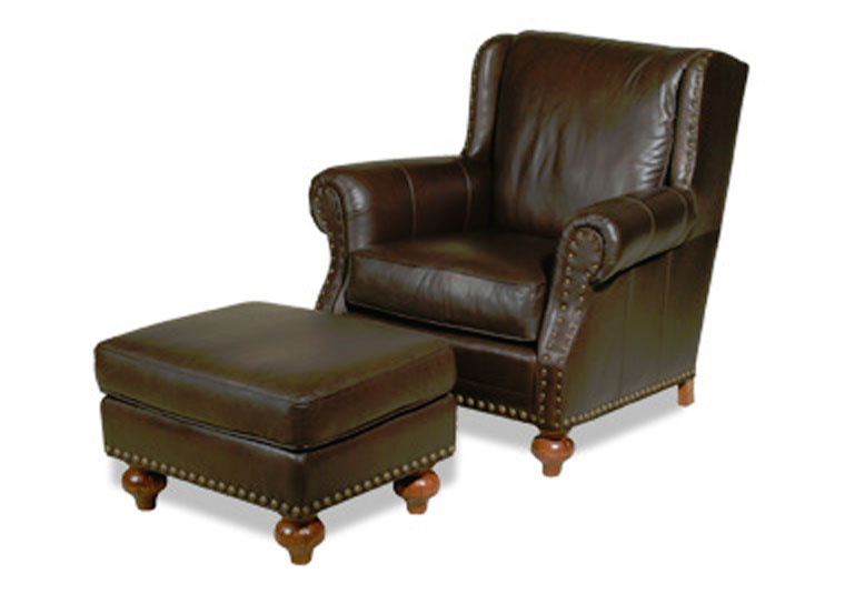 Ulysses Ottoman 3900 and Ulysses Lounge Chair 3901