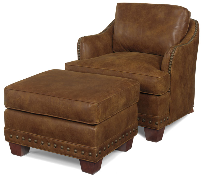 Patrick Ottoman 3920 and Patrick Lounge Chair 3921 Ohio