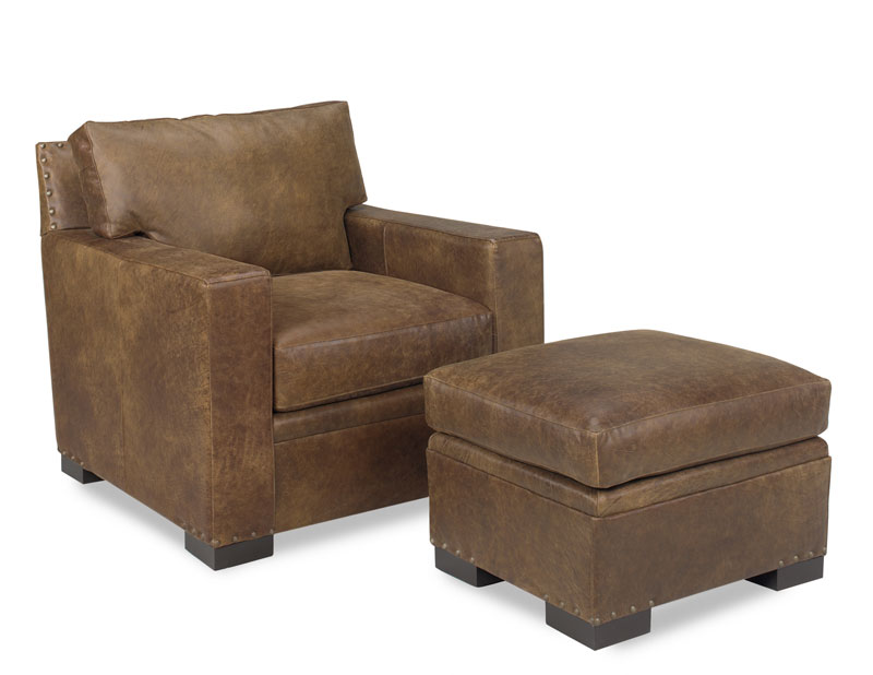4201 Franklin Chair and 4200 Franklin Ottoman