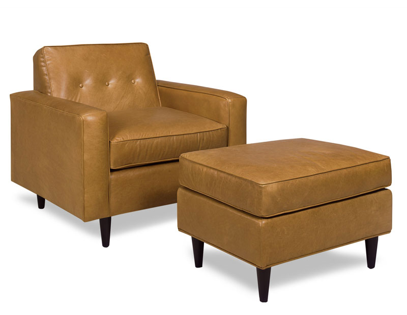 4221 Percy Chair and 4220 Percy Ottoman