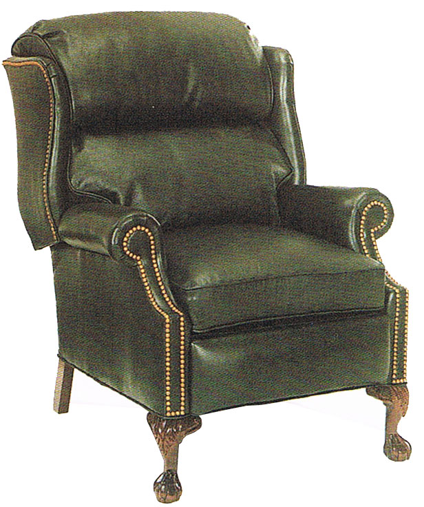 Coolidge Recliner 52 - Ball & Claw