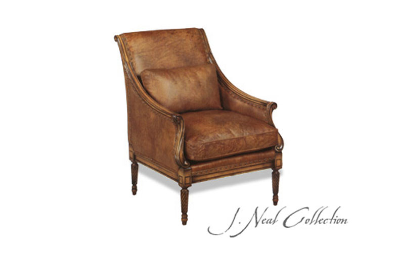J. Neal Italian Curved Chair 502