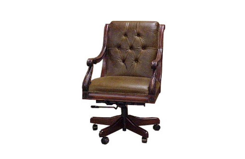 J. Neal Tufted Executive Swivel Chair 511